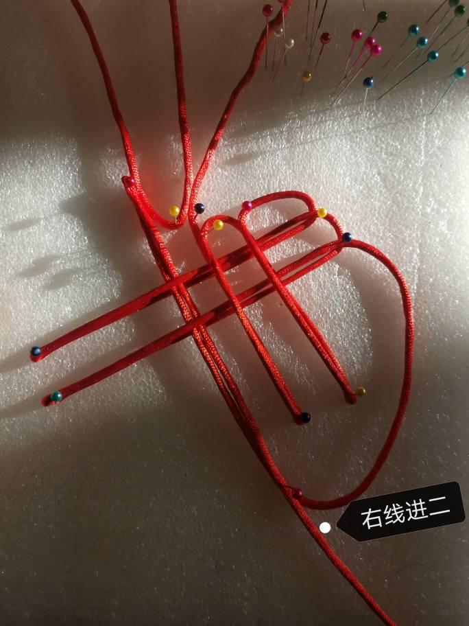 中国结论坛 复翼双胞胎盘长结 四回复翼盘长结图解,双耳复翼盘长结图解,绳编倒复翼盘长结 图文教程区 172455o9pi5s5blol53z4l