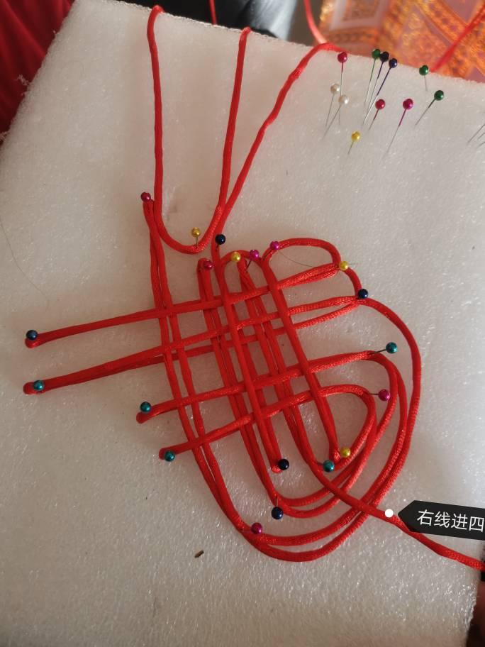 中国结论坛 复翼双胞胎盘长结 四回复翼盘长结图解,双耳复翼盘长结图解,绳编倒复翼盘长结 图文教程区 172458t6rqduedr6ezju6x