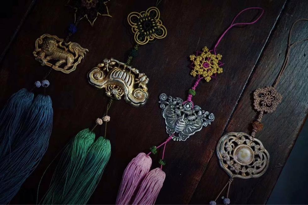 中国结论坛 古玉老银和传统绳结 常用绳结,安全绳结,编绳打结,打绳结,绳结手册 作品展示 115512dspplf7zicxhp74i