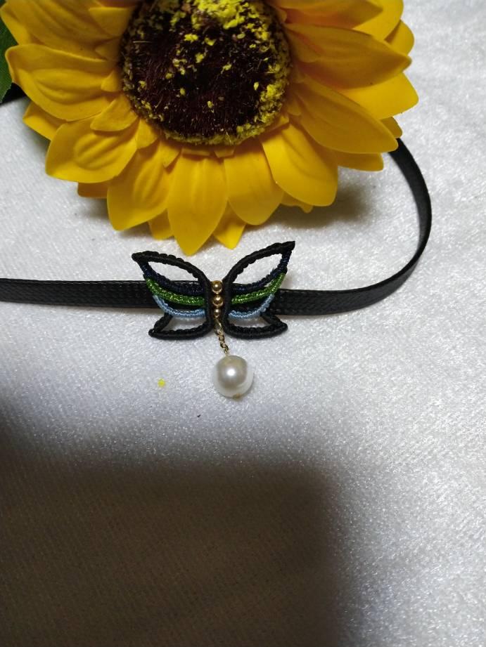 中国结论坛 颈链 项链的珠子多少个吉利,颈链适合什么人群,蕾丝颈链制作 作品展示 175746xu16i4fcazii1o1a