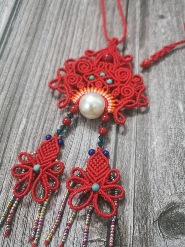 中国结论坛 美人与鱼 花嫁,斜卷结饰品、 作品展示 205744utzeqk84jaq445na