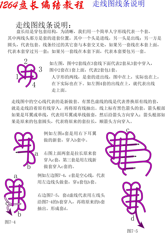 中国结论坛 1264盘长基盘长编结教程 1264盘长,盘长结 丑丑徒手编结 114208bouyhmmr40u5pmm8