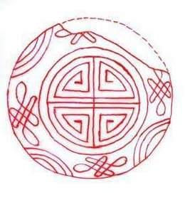中国结论坛 汉代铸范中的中国结盘长结雏形 十二道盘长结编法口诀,中国结编法图解大全,简易盘长结徒手编法,一字盘长结走线图,中国结盘长结同心结 中国结文化 143455spbf60owwb3l3e4b