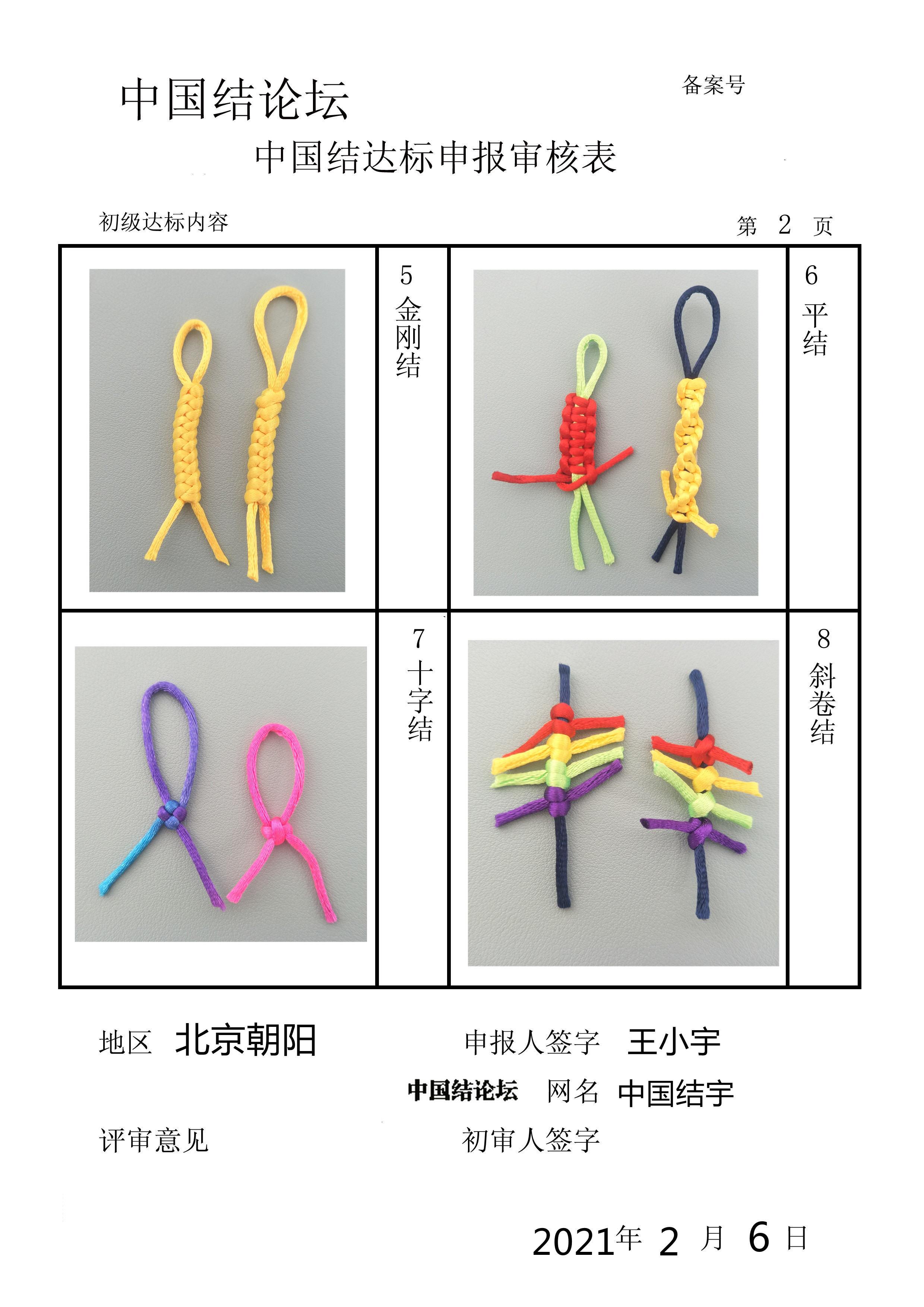 中国结论坛 初级提交审核  中国绳结艺术分级达标审核 161050wol3dk5len67wanz