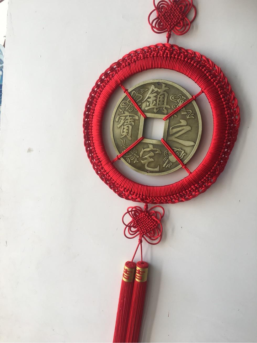中国结论坛 过年了编个铜钱挂饰 挂饰,单枚铜钱编挂件,铜钱怎么用绳子编起来 作品展示 001831ev1vkvo1lvvi4wyn