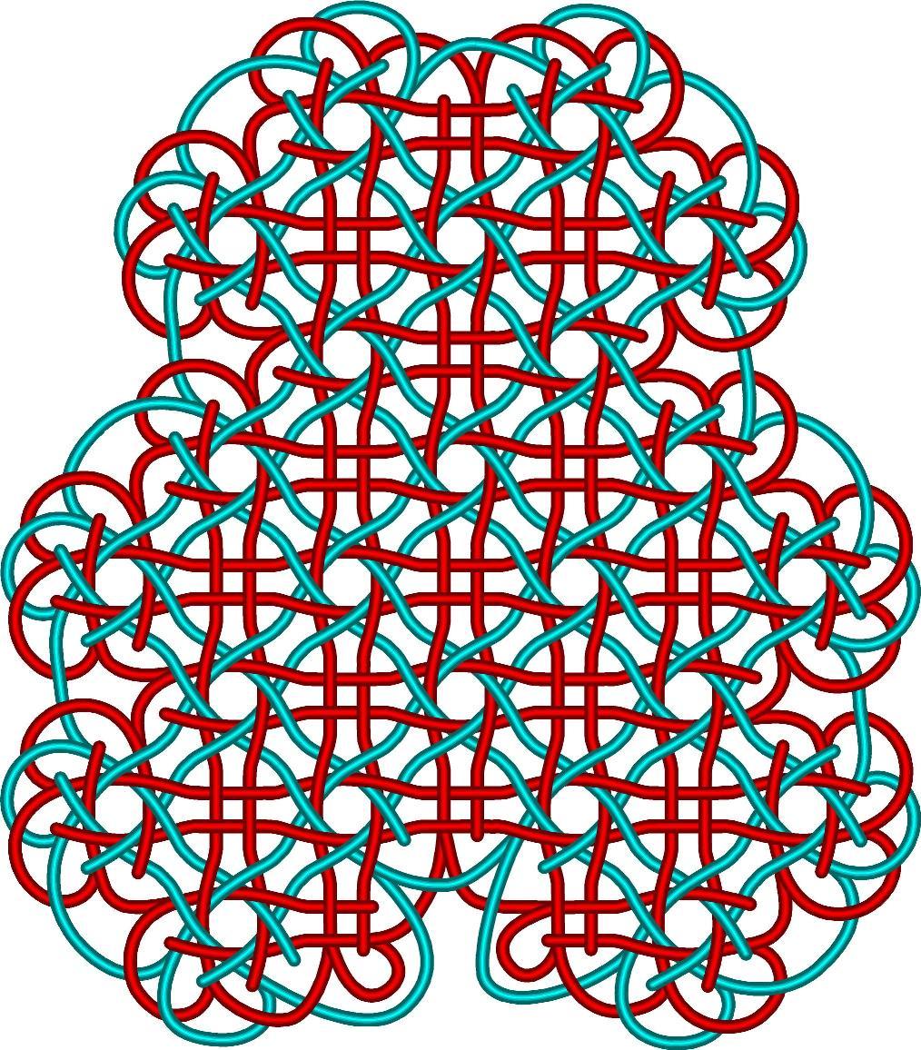 中国结论坛 8-4盘长团锦单元混编图例的穿线图 盘长,徒手,穿线图,基盘长法 丑丑徒手编结 110018enrlwirwyvu2vmm8
