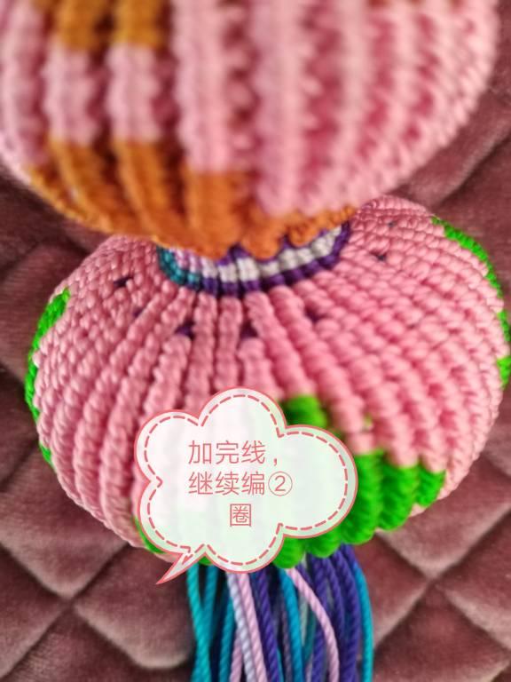 中国结论坛 中国结葫芦的做法 葫芦,斜卷结 图文教程区 190555qqt8ms7l1n87l88n