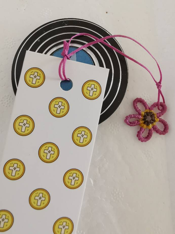中国结论坛 我做的小挂件都被孩子做成了书签-1五瓣花 书签怎么制作,吹风机快速制作干花,手工制作植物标签 作品展示 150401wij8qhljchzavpzv