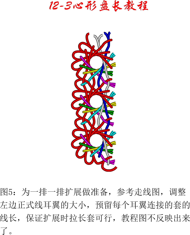中国结论坛 12-3心形盘长徒手教程 教程,口布盘花十种简单折法,折爱心的步骤图解 丑丑徒手编结 171707c8e88e8hi3zb43ze