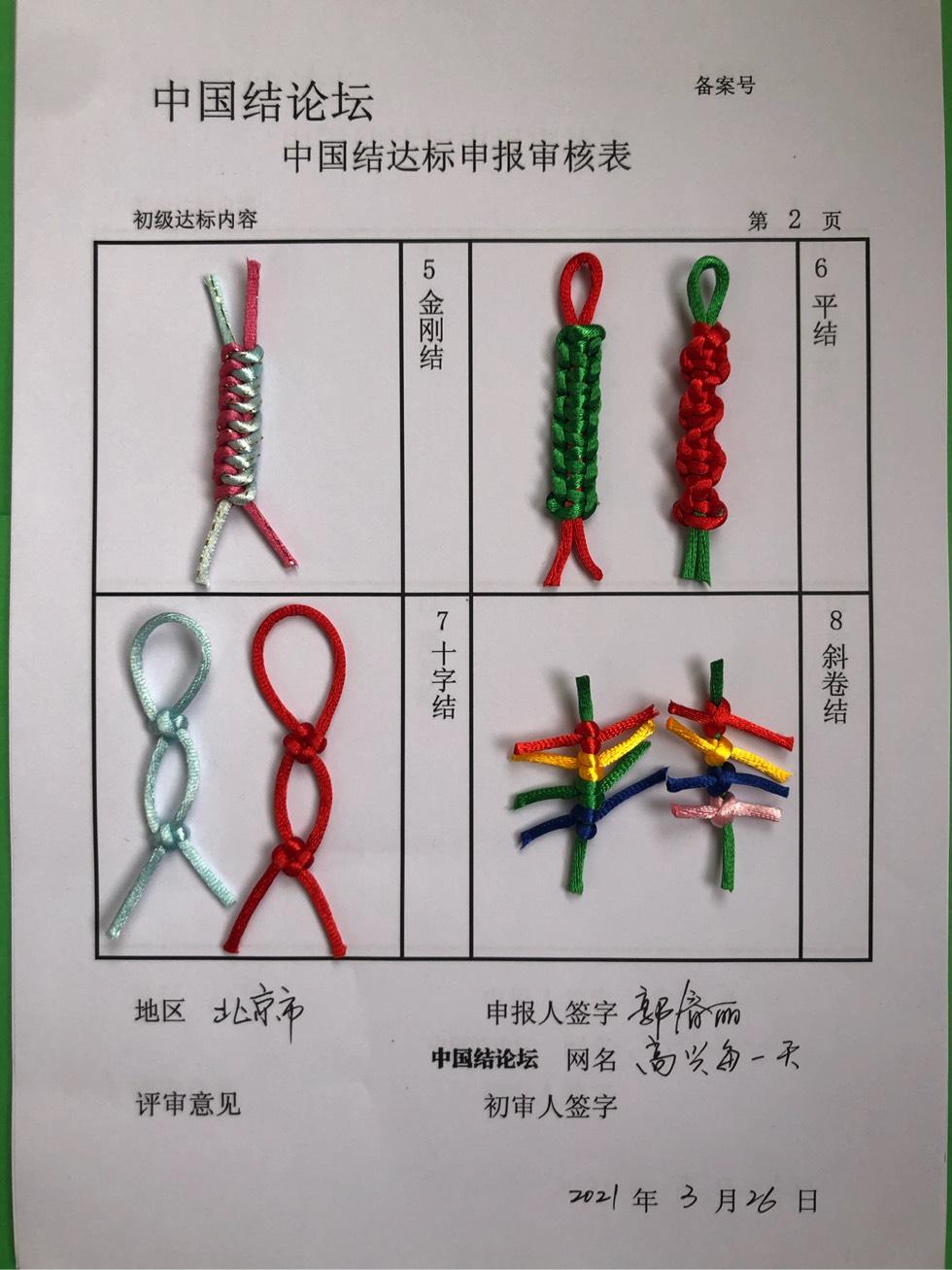 中国结论坛 高兴每一天—初级达标申请稿件  中国绳结艺术分级达标审核 151925s141lwcfciiqfwuw