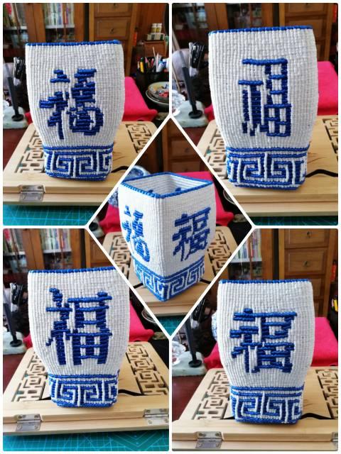 中国结论坛 青花瓷罐 真品民国喜字罐多少钱,几万元一片元青花瓷片,乾隆青花罐图片大全 作品展示 131400bi0zp6iuh3nz08hd