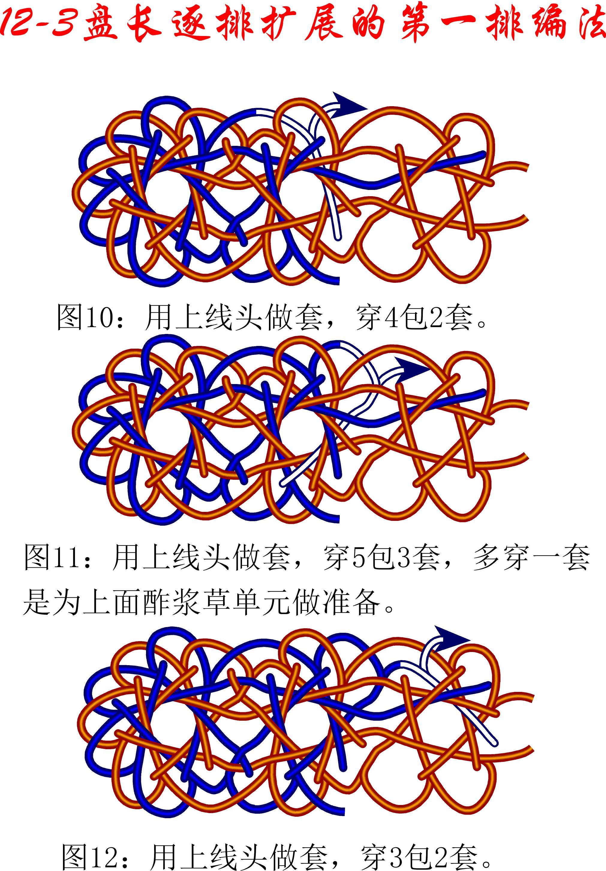 中国结论坛 12-3排扩展法第一排的基盘长编法教程 教程,共基接法,扩展法定义,定基分析法,扩展编码法 丑丑徒手编结 091732oseszw6lbxx7r67a