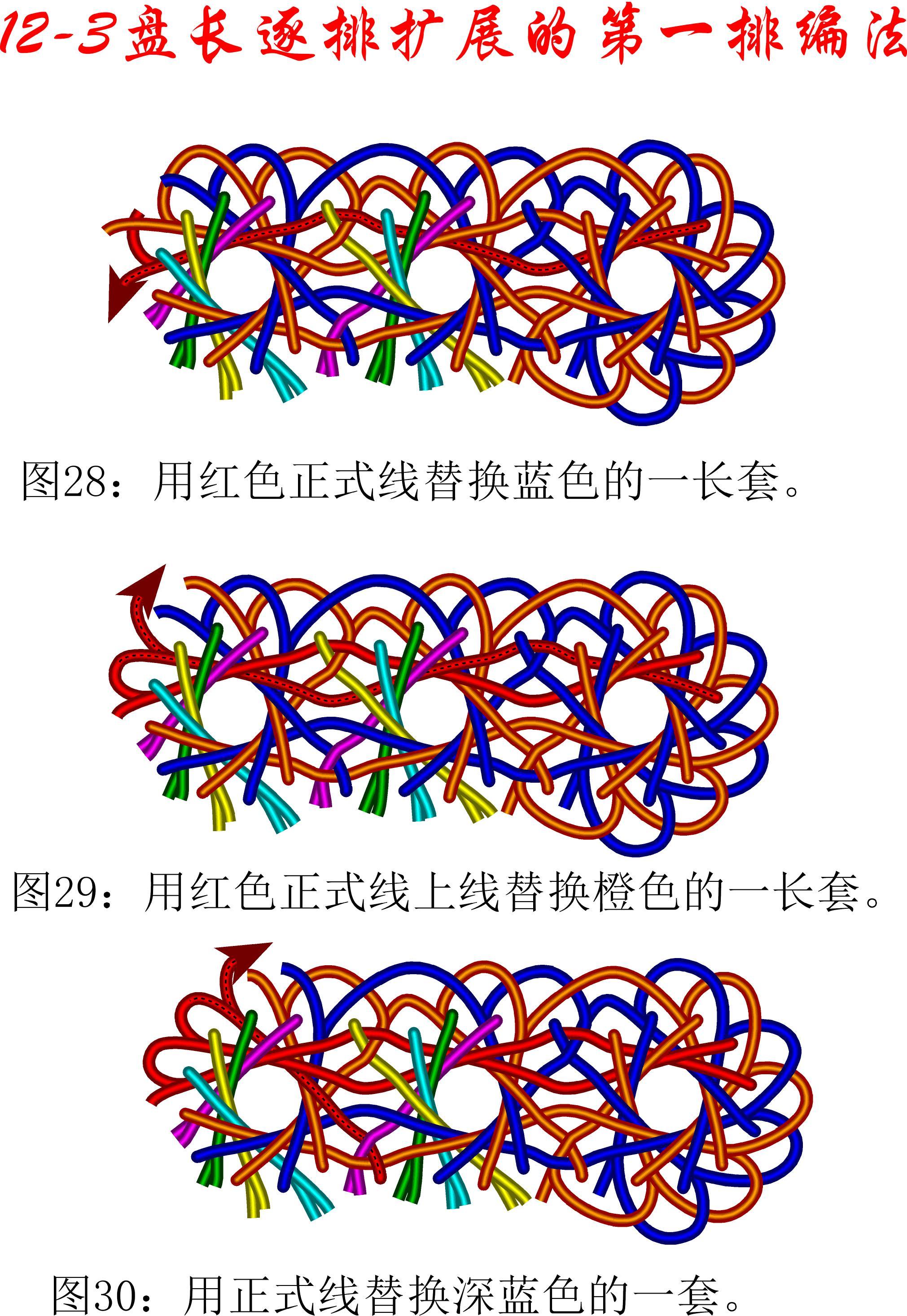 中国结论坛 12-3排扩展法第一排的基盘长编法教程 教程,共基接法,扩展法定义,定基分析法,扩展编码法 丑丑徒手编结 111134ca64wq8ehw8qvl8a