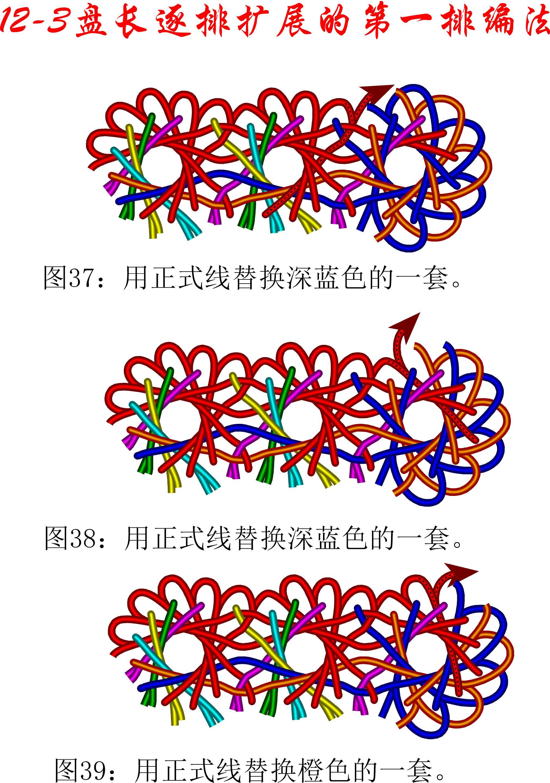 中国结论坛 12-3排扩展法第一排的基盘长编法教程 教程,共基接法,扩展法定义,定基分析法,扩展编码法 丑丑徒手编结 111213vppszobbxe8xnrcs