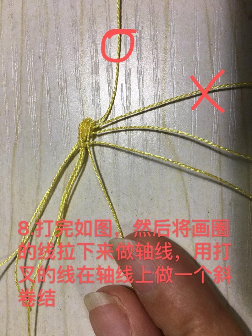 中国结论坛 小花教程第二种 教程,折小花,钩针小花,绣一朵简单的小花,一步一步教画小花 图文教程区 102837ezkh3d8dbhlbuyy7