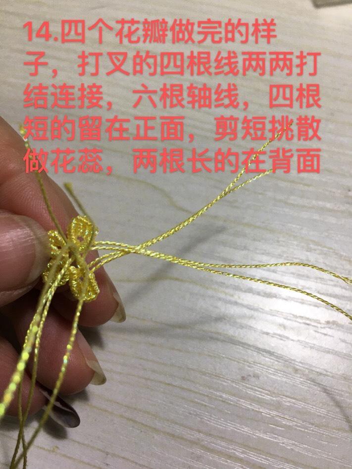 中国结论坛 小花教程第二种 教程,折小花,钩针小花,绣一朵简单的小花,一步一步教画小花 图文教程区 102853jyauxv3ceaea70v2