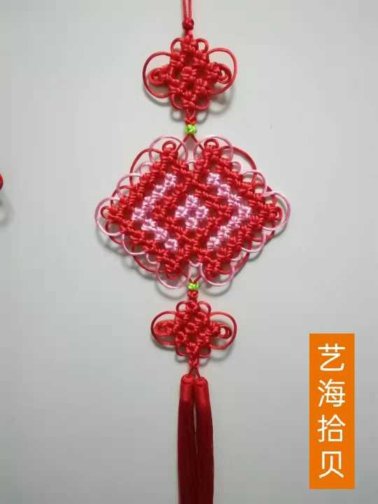 中国结论坛 6*6套色冰花双回菱 花股结与冰花结,套色冰花结,冰花制作,简单的冰花 作品展示 095956s8g7idxfjjfy97f8