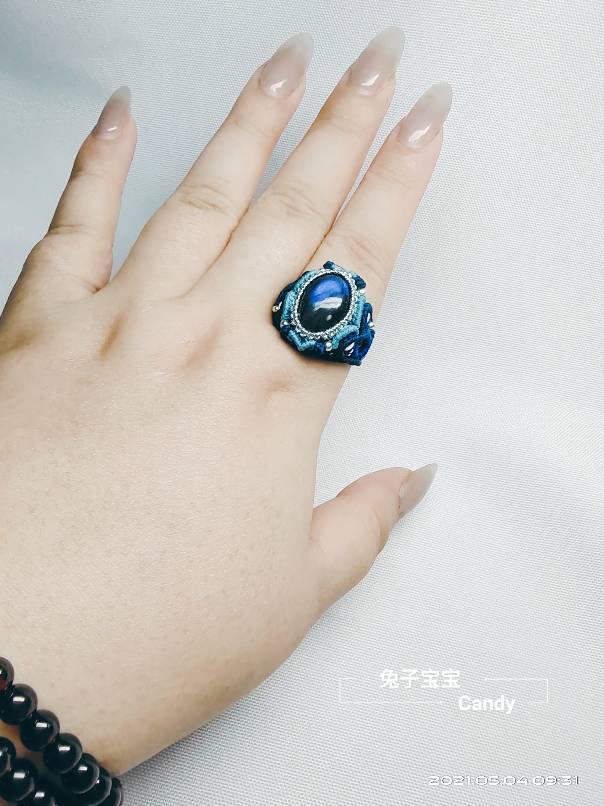 中国结论坛 拉长石立体戒指 折钻石戒指最简单折法,拉长石戒指,拉长石手工编织教程,戒指怎么折简单漂亮,折一只戒指 作品展示 102006gdwds586f44h7k84