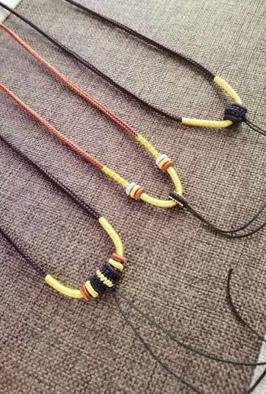 中国结论坛 项链绳 手工编织项链,时尚项链,手工编绳项链,两根绳怎么编项链,佛牌挂绳的穿法 作品展示 070638dtnknp7pyyvryoxz