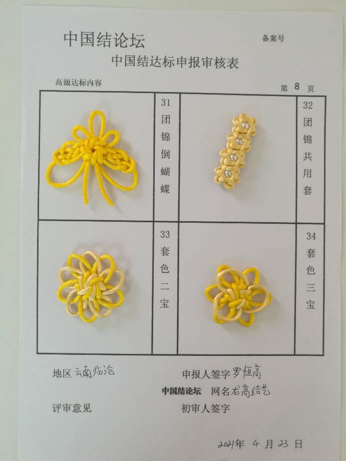 中国结论坛 龙高结艺—高级达标申请稿件  中国绳结艺术分级达标审核 082607hldk3xoyx3ozqwzz