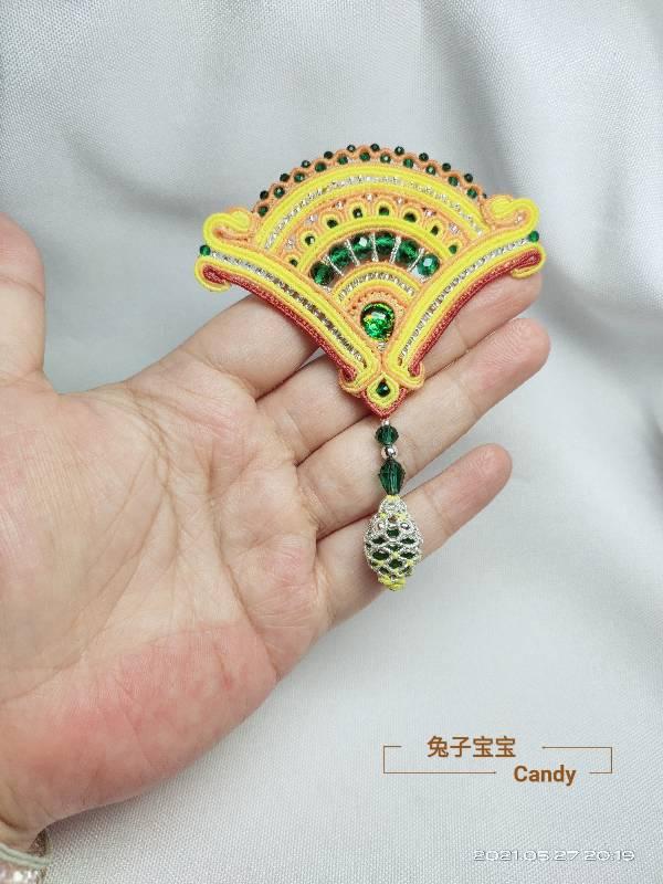 中国结论坛 扇子胸针 小扇子,自己做扇子,胸针戴哪边,胸针干嘛用的,胸针胸花 作品展示 211910aw20qpcejvv56cwo