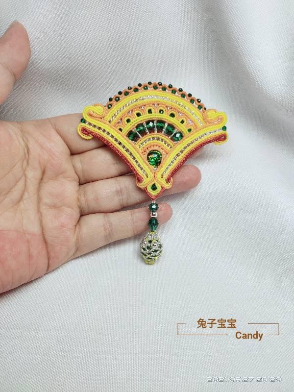 中国结论坛 扇子胸针 小扇子,自己做扇子,胸针戴哪边,胸针干嘛用的,胸针胸花 作品展示 211911t1570mzi775bvksi