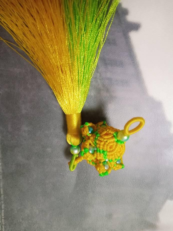 中国结论坛 宫铃小挂件 宫铃怎么做,双宫铃 作品展示 194630lqf99r4f002y10cd