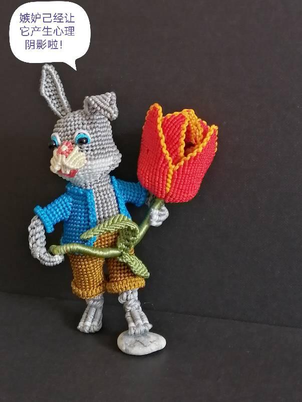 中国结论坛 兔子,小车,花缸教程 教程,兔子花怎么打,和兔子有关的花图片,兔子花刀图片,兔子花是什么花 图文教程区 142552fjy4kpyjesydyrb6