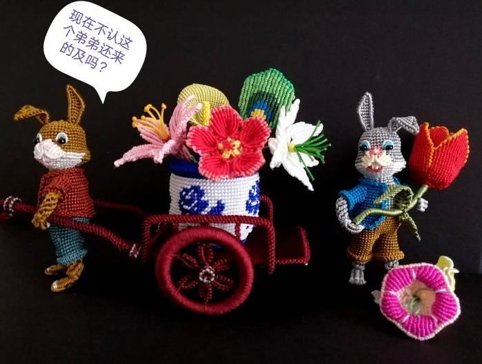 中国结论坛 兔子,小车,花缸教程 教程,兔子花怎么打,和兔子有关的花图片,兔子花刀图片,兔子花是什么花 图文教程区 142553tm0gzgkvoij1dp1g