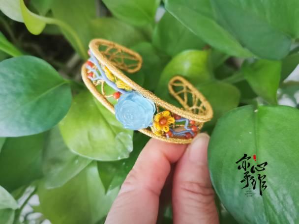 中国结论坛 海蓝宝手镯 且末蓝和田玉市场价格,顶级海蓝宝,海蓝宝石,海蓝宝怎么看品相 作品展示 140445fu2zo5v3nz2j8j12
