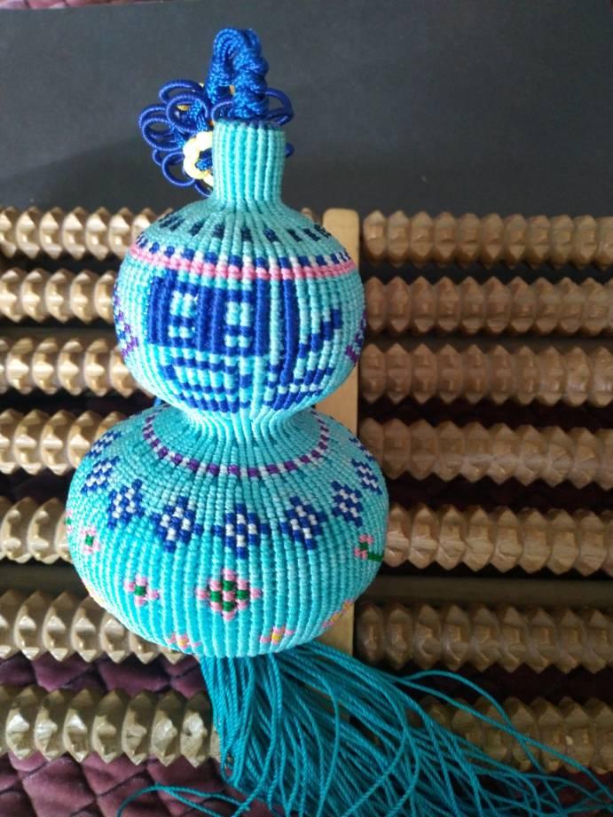 中国结论坛 原创编织葫芦~繁花点点 葫芦的编织教程图解,手工编织葫芦,手工编织葫芦挂件教程,葫芦的钩织教程 作品展示 162753k3z7y8yy8a8pc8we
