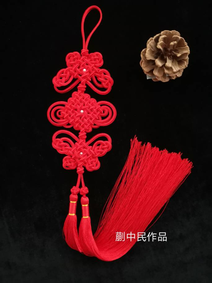 中国结论坛 移位盘长的延伸 中国结图片,各种回菱结的走线图,中国结老师介绍,中国结五福结 作品展示 172554vp5gvb55p6x9hgbn