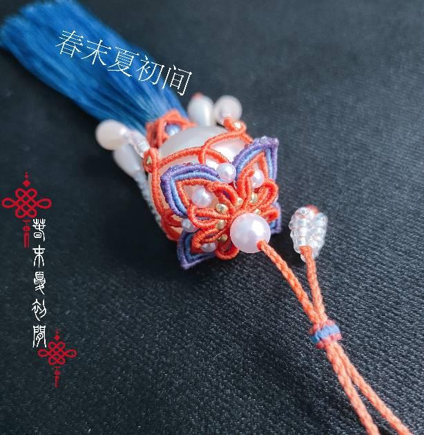 中国结论坛 《秋念》一款多用系列挂饰 挂饰,秋念成行,一个口一个秋念啥,口秋怎么念,木和秋念什么 作品展示 131408oqr51tqb105zqiz1