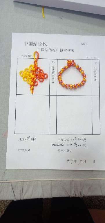 中国结论坛 高丽侠的初级结考核  中国绳结艺术分级达标审核 174404invizj2262jvyuv9
