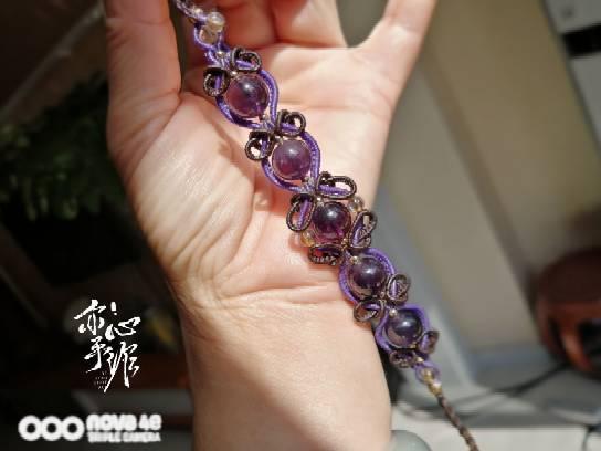 中国结论坛 紫水晶手链 手链,紫水晶手链的含义,紫水晶手链图片大全,真紫水晶手链图片 作品展示 132643t5gfn0uej16cc513
