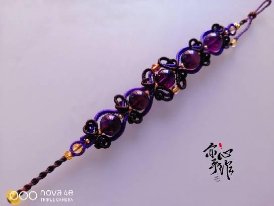 中国结论坛 紫水晶手链 手链,紫水晶手链的含义,紫水晶手链图片大全,真紫水晶手链图片 作品展示 132644s06fg166z0tu4u6y