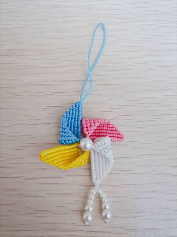 中国结论坛 最近编了些手绳、书签、小挂件~ 手机挂件编法简单,手工编织最简单的挂件,手工编珠子小挂件视频,手工编织挂件绳的编法 作品展示 181128issvvum5eu5uueem