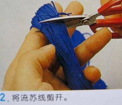 中国结论坛 流苏的编法及编法图解 分级达标 图文教程区 090428230016d32f074ee91bf3