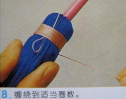 中国结论坛 流苏的编法及编法图解 分级达标 图文教程区 09042823002205420d44755178