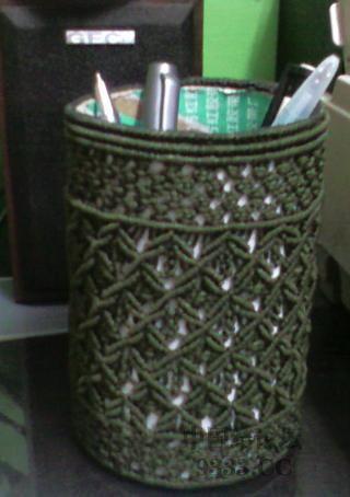 中国结论坛 DIY笔筒(36楼+杯套教程) 教程,一米阳光,空心,实用,可是 作品展示 09070723034f67063ffa864955