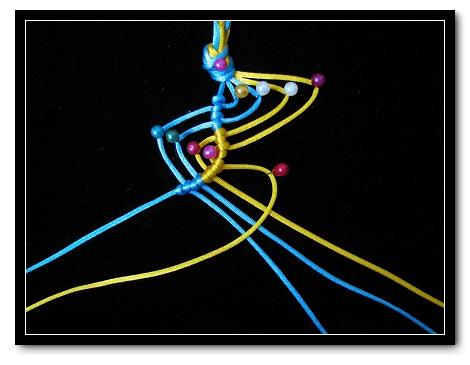 中国结论坛 小金鱼过程图  立体绳结教程与交流区 0907091214f8000f49e8dc79a2