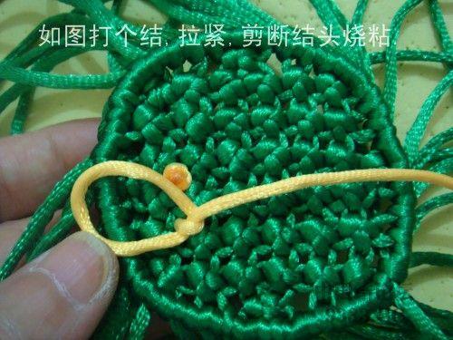 中国结论坛 莲蓬的编法  立体绳结教程与交流区 0907241739ba07358635d2f6f7