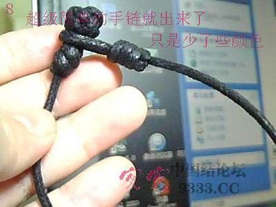 中国结论坛 简单的结艺串珠手链教程 手链,教程,手工珠子怎么穿的快,手工串珠最简单教程,串珠手链怎么做 图文教程区 0909291726f4fe4e56b3043239