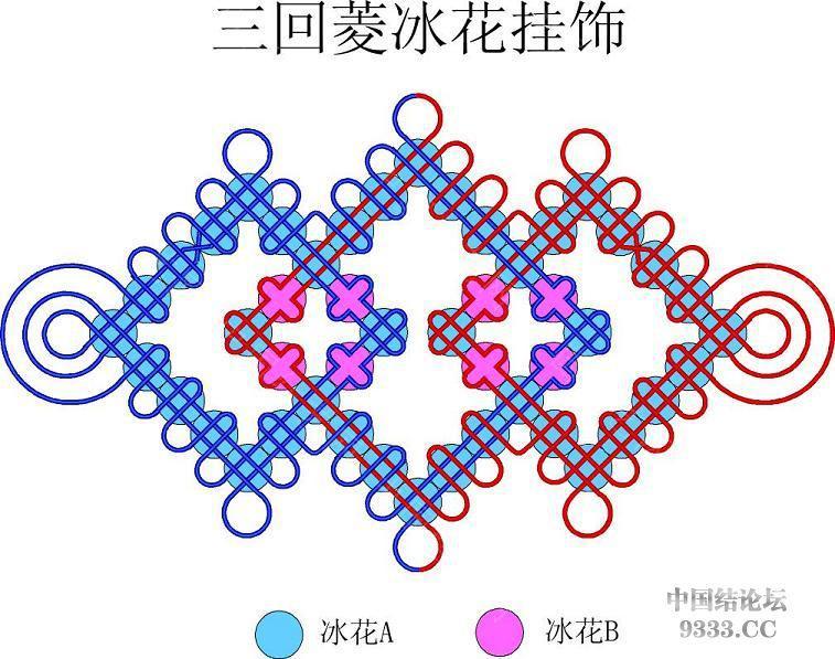 中国结论坛 我画的冰花走线简图 (陆续添加)  冰花结(华瑶结)的教程与讨论区 100112004696d540ff9f988310