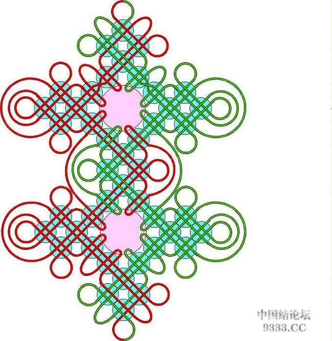 中国结论坛 我画的冰花走线简图 (陆续添加)  冰花结(华瑶结)的教程与讨论区 1001120046c6937c7b80a81bc3