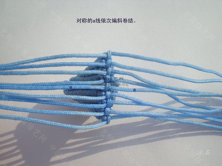中国结论坛 简单的小粽子编制图  立体绳结教程与交流区 10011221302357408a20364781