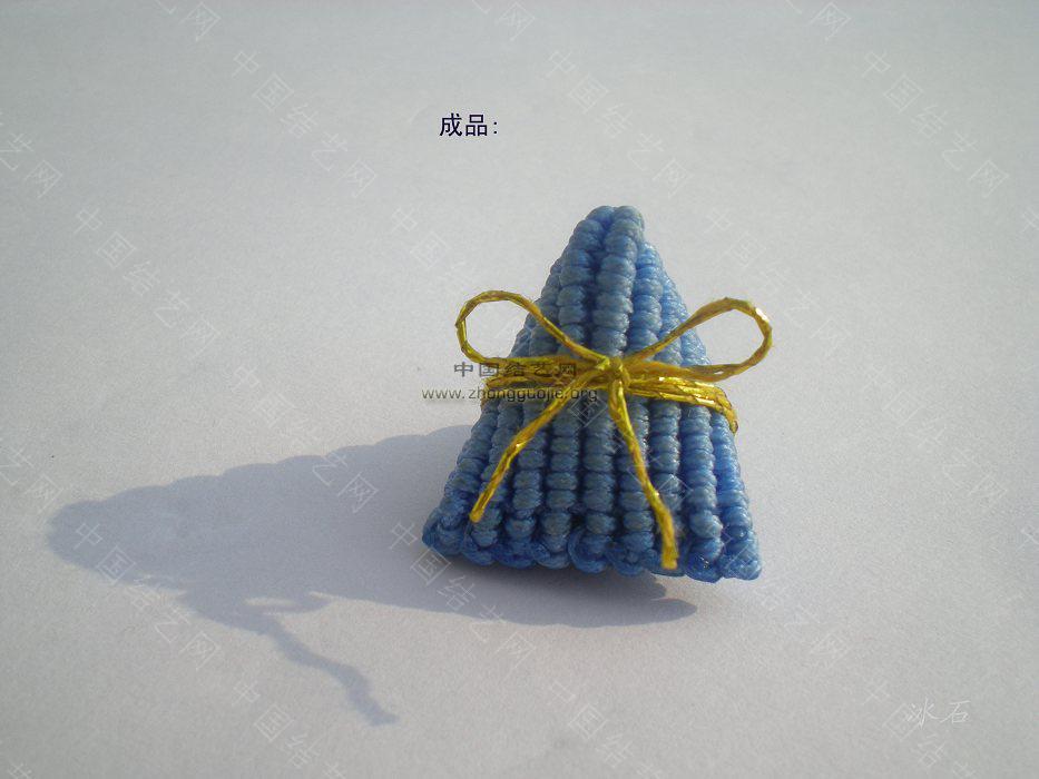 中国结论坛 简单的小粽子编制图  立体绳结教程与交流区 1001122130cf6d1ba87198817f