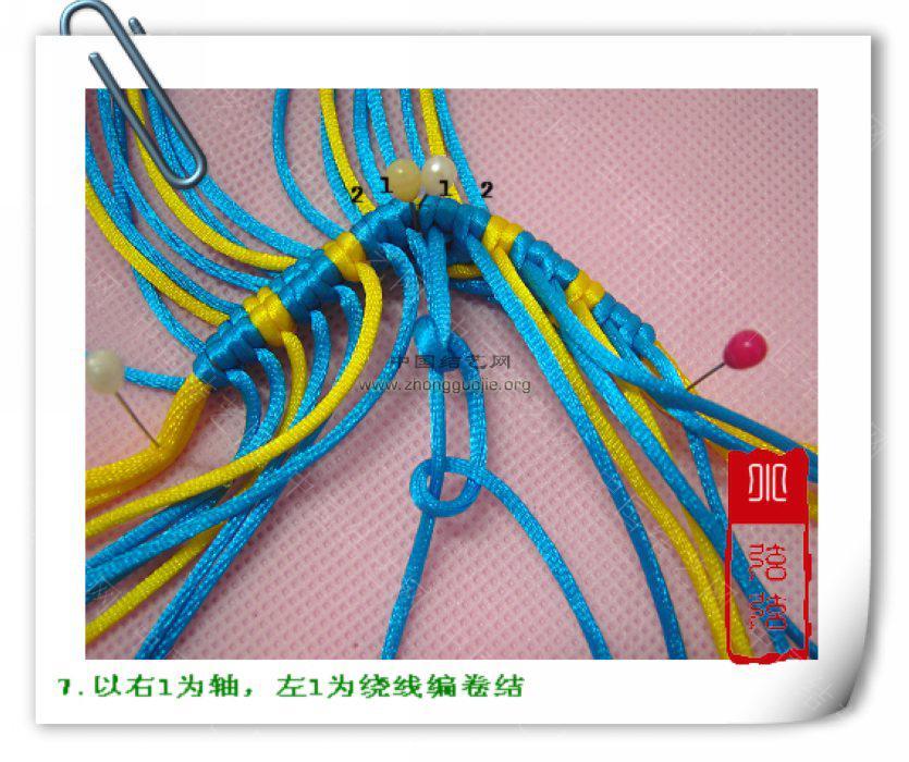 """中国结论坛 一款简单的鱼--------自""""游""""自在  立体绳结教程与交流区 10011223584ba7c10898ad85fa"""
