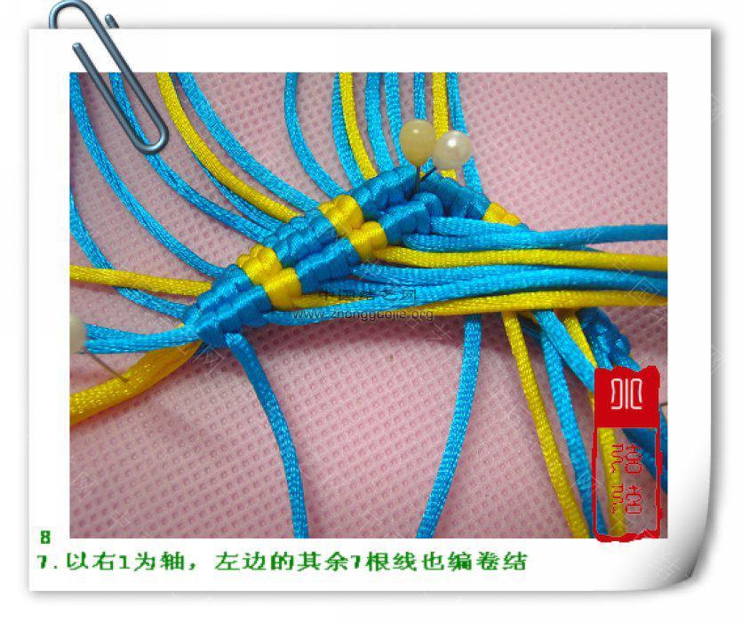 """中国结论坛 一款简单的鱼--------自""""游""""自在  立体绳结教程与交流区 1001122358af5a6117e7fb90c6"""