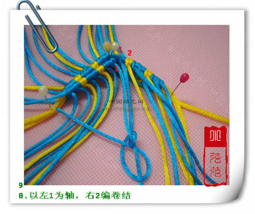 """中国结论坛 一款简单的鱼--------自""""游""""自在  立体绳结教程与交流区 1001122358b1657f57861e9a2d"""